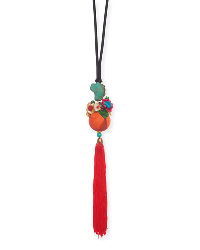 Lou Long Tassel Necklace