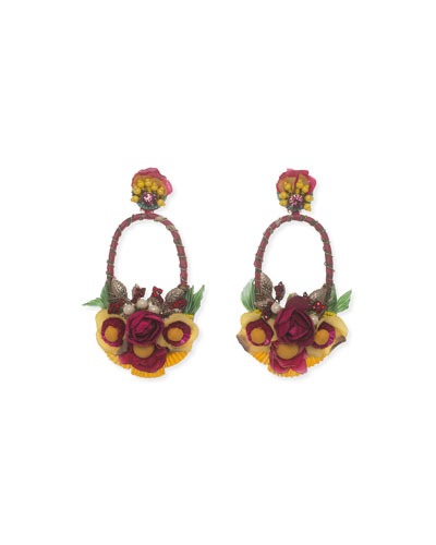 Luscina-L Drop Earrings