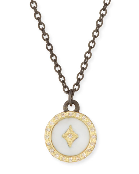 Armenta Old World 18k Diamond Star Pendant Necklace