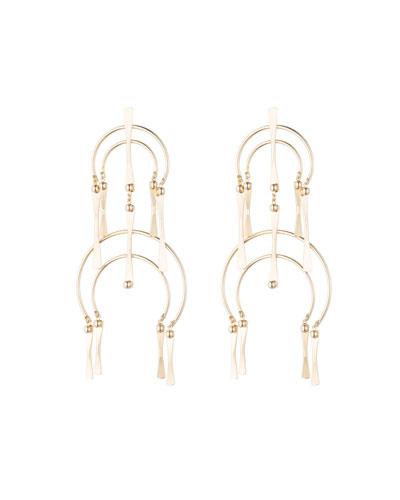 Kamila Double-Drop Earrings
