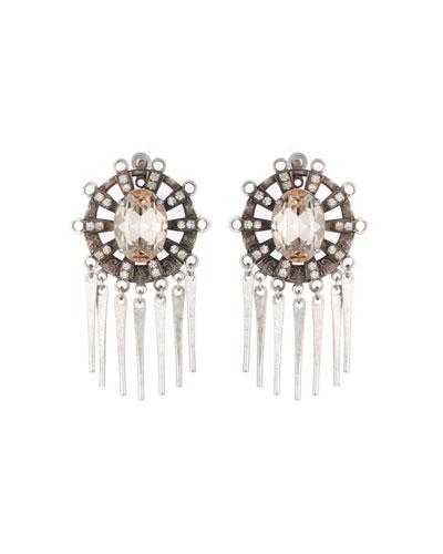 Lennyn Crystal Dangle Earrings