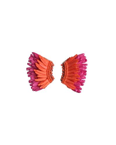 Madeline Mini Raffia Statement Earrings