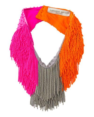 Le Marcel Colorblock Scarf Necklace