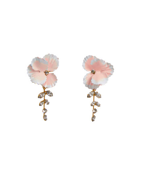 Jennifer Behr Senna Flower Earrings