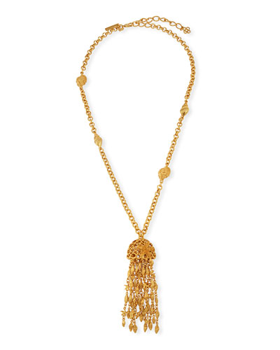 Shell Tassel Necklace