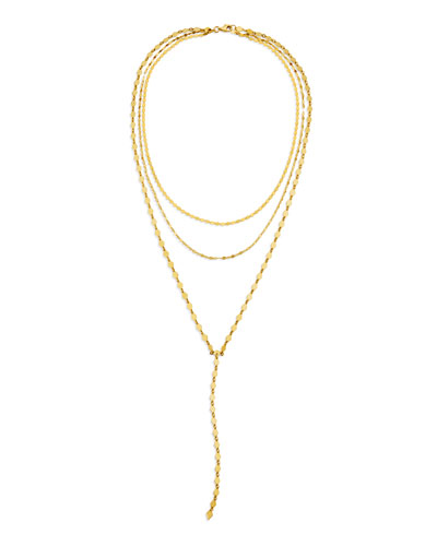 14k Kite Blake Remix Y-Drop Necklace