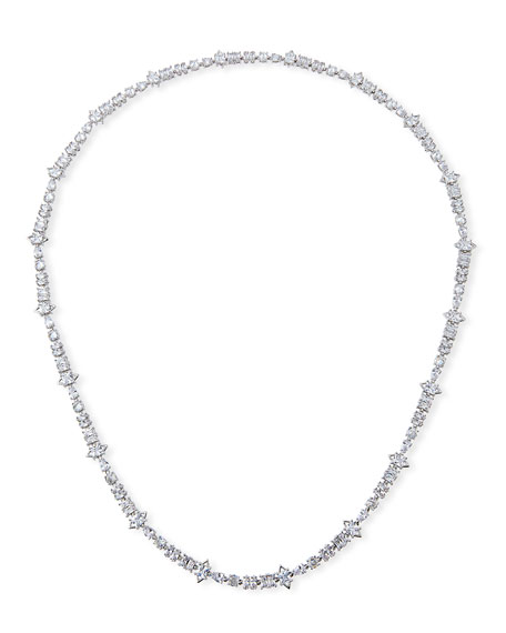 Fallon Jagged-Edge Extra-Long Necklace