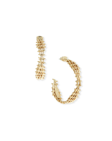 Volutta Hoop Earrings