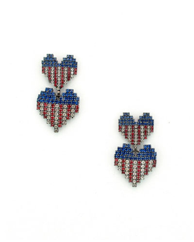 Abigail Heart Earrings