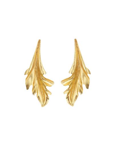 Baroque Leaves Earrings
