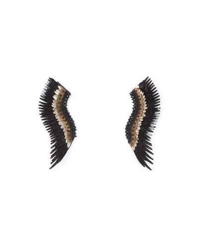 Madeline Layne Beaded Statement Earrings