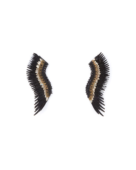 Mignonne Gavigan MADELINE LAYNE BEADED STATEMENT EARRINGS