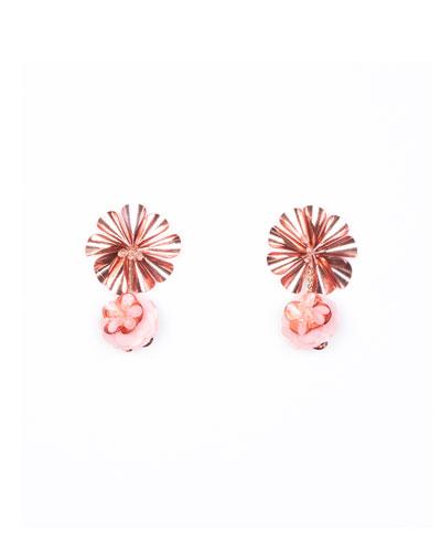 Karolina Petite Earrings  Pink