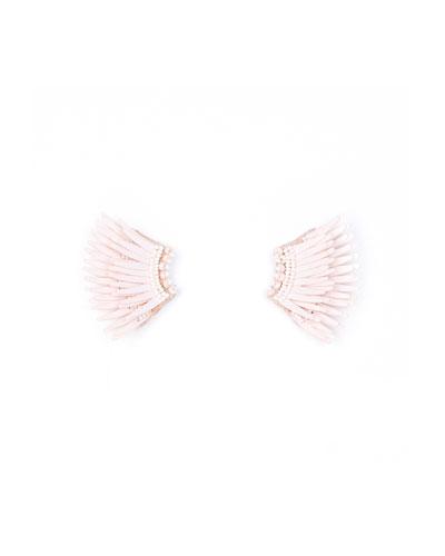 Madeline Mini Matte Earrings  Pink