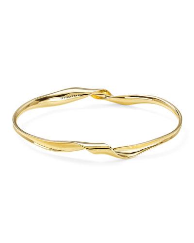 18k Classico Twisted Ribbon Bracelet