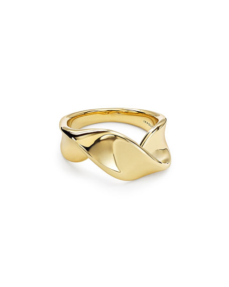 18K Classico Twisted Ribbon Ring in Gold