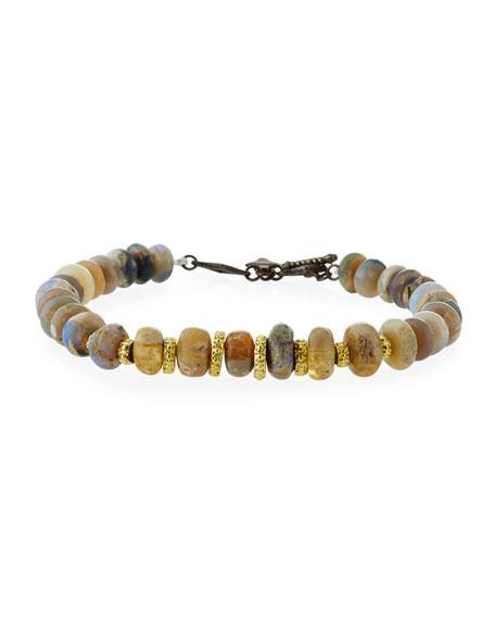 Armenta Old World Boulder Opal Beaded Bracelet