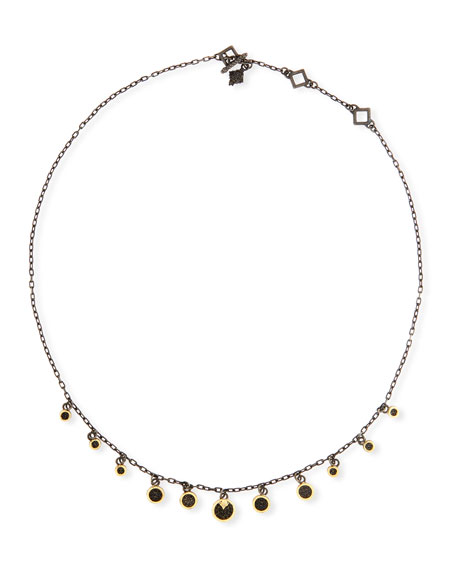 Armenta Old World Multi-Disc Shaker Necklace