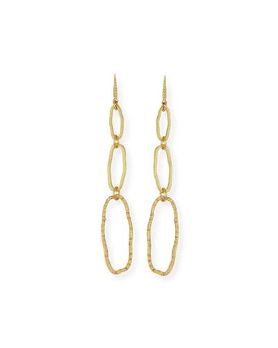 Sueno 18k Diamond Triple Drop Earrings