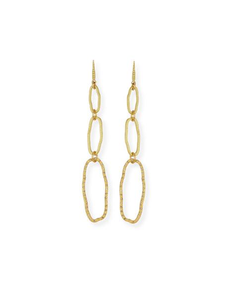 Armenta SUENO 18K DIAMOND TRIPLE DROP EARRINGS