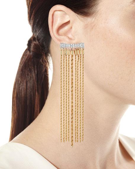 Yacht Club Waterfall Earrings