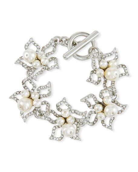 Pave Petal Bracelet
