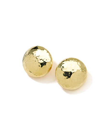 Ippolita Glamazon 18k Gold Mini Dot Clip-On Earrings