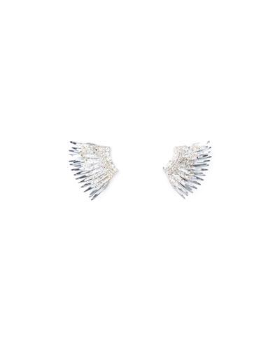 Madeline Mini Paint-Splatter Statement Earrings