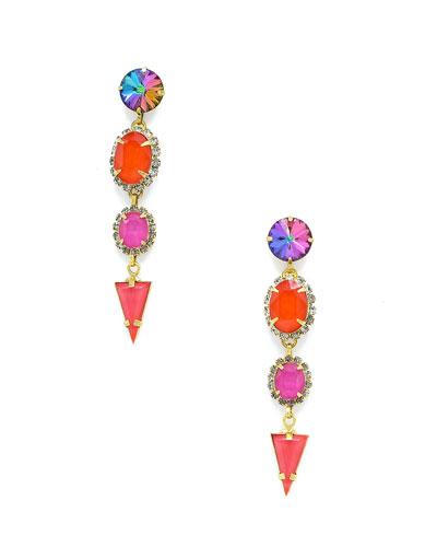 Teagan Stone Drop Earrings