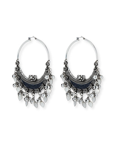 Demi Lune Oversized Earrings