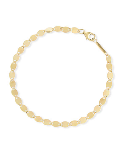 14k Gold Large Nude Chain Bracelet