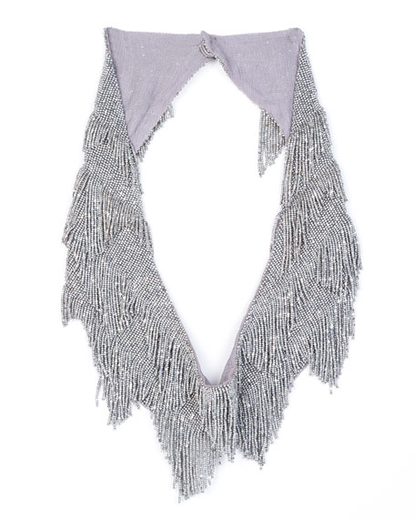 Mignonne Gavigan Greta Beaded Fringe Necklace