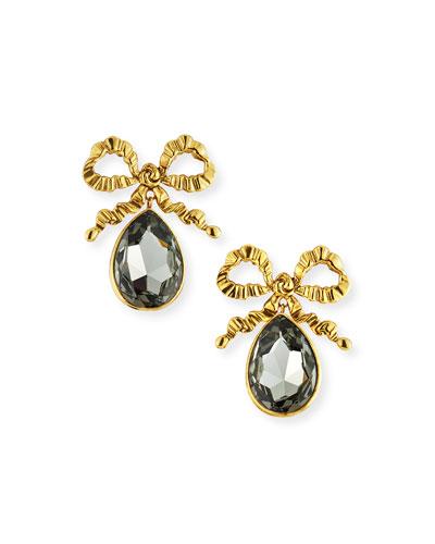 Kira Bow Drop Earrings