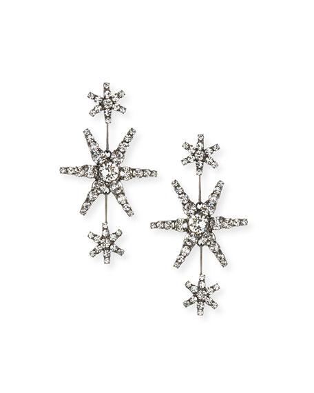 JENNIFER BEHR Aries Constellation Earrings in Gray