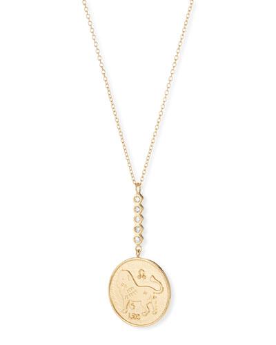 Greta Leo Pendant Necklace