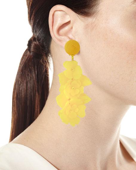 Climbing Flower Clip-On Earrings