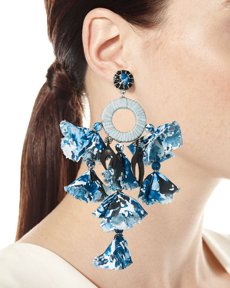 Sandy Dangle Earrings