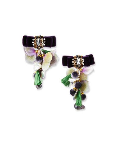 Pearl Sands Clip-On Dangle Earrings