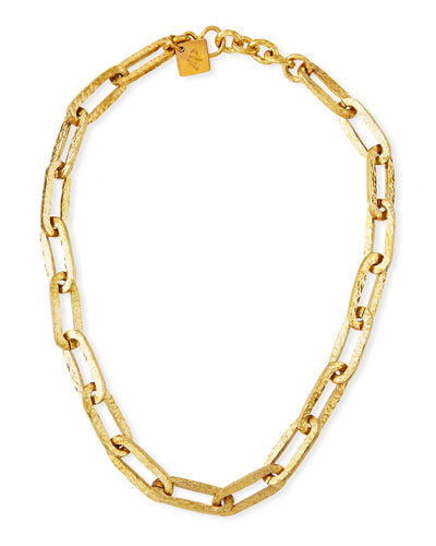 Dini Bronze-Link Necklace
