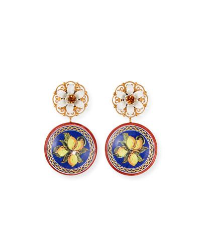 Carretto Lemon-Drop Earrings
