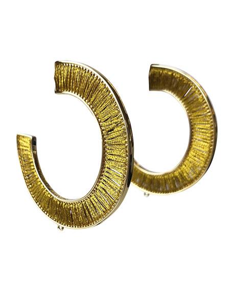 Mignonne Gavigan Fiona Wrapped Hoop Earrings