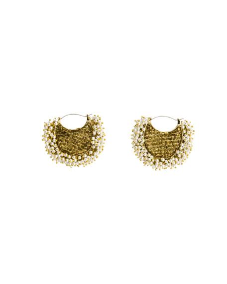Mignonne Gavigan Joey Lux Pearly Earrings