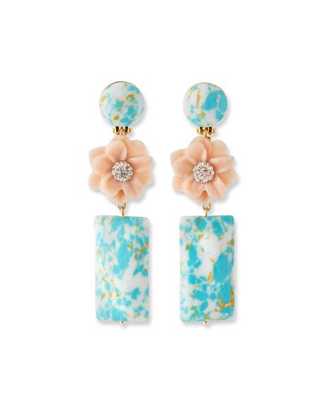Gardenia Drop Earrings