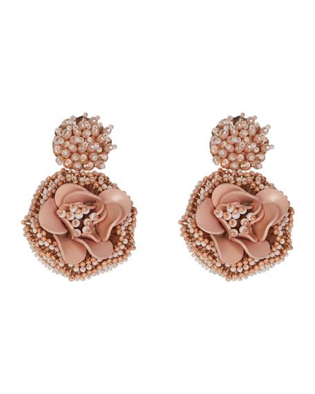 Mignonne Gavigan Marnie Beaded Flower Earrings