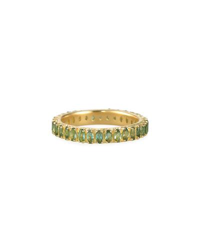 Sueno 18k Blue/Green Tourmaline Ring  Size 6.5