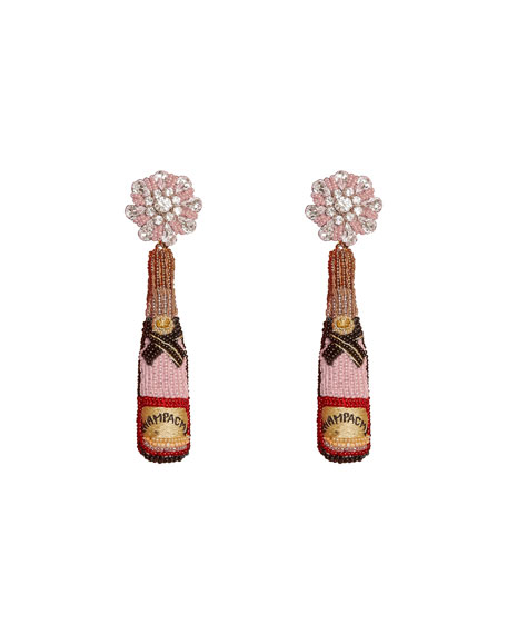Mignonne Gavigan Rose Bottle Earrings