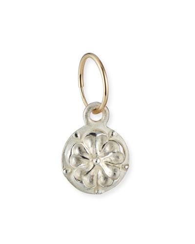 Tudor Rose Coin Single Earring