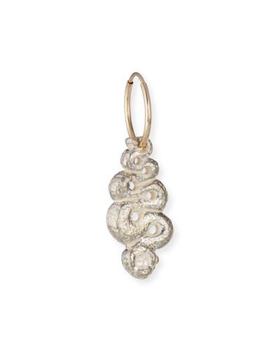 Serpent Drop Earring, Single
