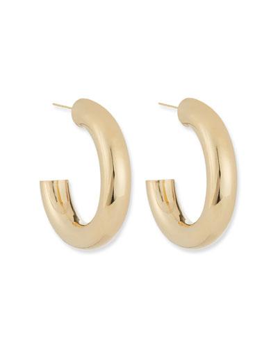 Lou Thick Hoop Earrings  1