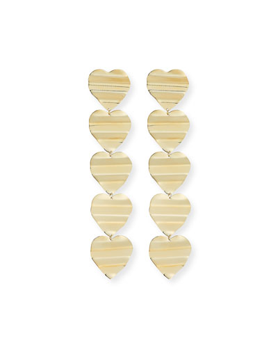 Llana Heart-Drop Earrings